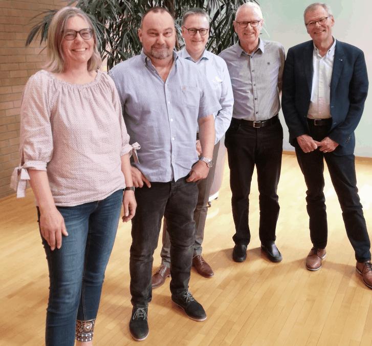 Neues Vorstandsteam 2019